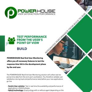 end user performance testing