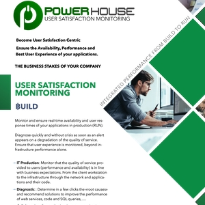 user satisfaction monitoring